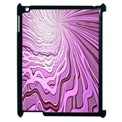 Light Pattern Abstract Background Wallpaper Apple iPad 2 Case (Black)