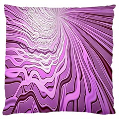Light Pattern Abstract Background Wallpaper Large Cushion Case (two Sides)