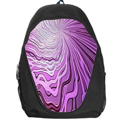 Light Pattern Abstract Background Wallpaper Backpack Bag