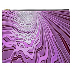 Light Pattern Abstract Background Wallpaper Cosmetic Bag (XXXL)