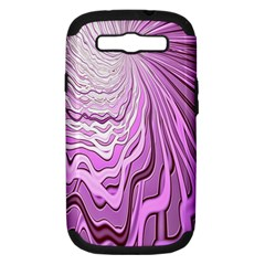 Light Pattern Abstract Background Wallpaper Samsung Galaxy S Iii Hardshell Case (pc+silicone)