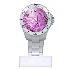 Light Pattern Abstract Background Wallpaper Plastic Nurses Watch