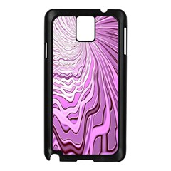 Light Pattern Abstract Background Wallpaper Samsung Galaxy Note 3 N9005 Case (Black)