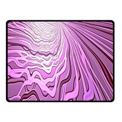Light Pattern Abstract Background Wallpaper Double Sided Fleece Blanket (Small)