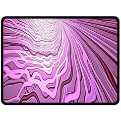 Light Pattern Abstract Background Wallpaper Double Sided Fleece Blanket (large)