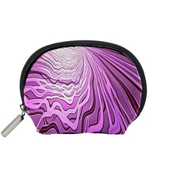 Light Pattern Abstract Background Wallpaper Accessory Pouches (Small)