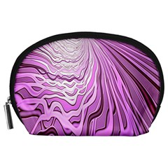 Light Pattern Abstract Background Wallpaper Accessory Pouches (Large)
