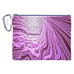 Light Pattern Abstract Background Wallpaper Canvas Cosmetic Bag (xxl)