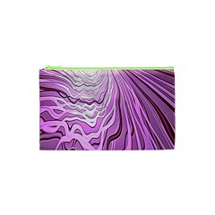 Light Pattern Abstract Background Wallpaper Cosmetic Bag (xs)