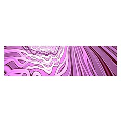 Light Pattern Abstract Background Wallpaper Satin Scarf (Oblong)