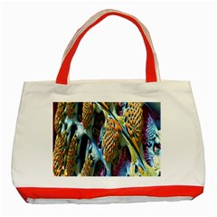 Background, Wallpaper, Texture Classic Tote Bag (Red)