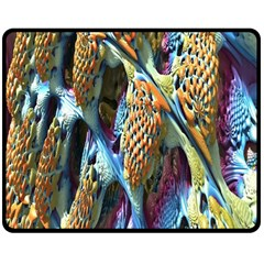 Background, Wallpaper, Texture Double Sided Fleece Blanket (medium)