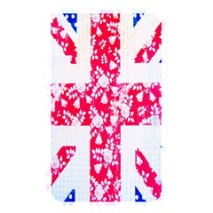 British Flag Abstract British Union Jack Flag In Abstract Design With Flowers Memory Card Reader