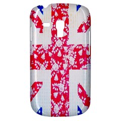 British Flag Abstract British Union Jack Flag In Abstract Design With Flowers Galaxy S3 Mini