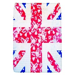British Flag Abstract British Union Jack Flag In Abstract Design With Flowers Flap Covers (S)