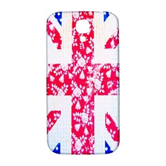 British Flag Abstract British Union Jack Flag In Abstract Design With Flowers Samsung Galaxy S4 I9500/I9505  Hardshell Back Case