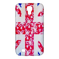 British Flag Abstract British Union Jack Flag In Abstract Design With Flowers Samsung Galaxy Mega 6.3  I9200 Hardshell Case