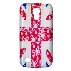 British Flag Abstract British Union Jack Flag In Abstract Design With Flowers Galaxy S4 Mini