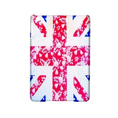 British Flag Abstract British Union Jack Flag In Abstract Design With Flowers Ipad Mini 2 Hardshell Cases