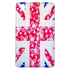 British Flag Abstract British Union Jack Flag In Abstract Design With Flowers Samsung Galaxy Tab Pro 8 4 Hardshell Case