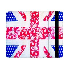 British Flag Abstract British Union Jack Flag In Abstract Design With Flowers Samsung Galaxy Tab Pro 8 4  Flip Case