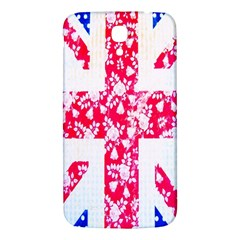 British Flag Abstract British Union Jack Flag In Abstract Design With Flowers Samsung Galaxy Mega I9200 Hardshell Back Case