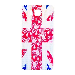 British Flag Abstract British Union Jack Flag In Abstract Design With Flowers Samsung Galaxy Alpha Hardshell Back Case
