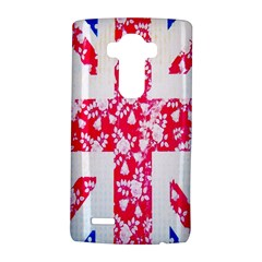 British Flag Abstract British Union Jack Flag In Abstract Design With Flowers LG G4 Hardshell Case