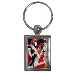 Abstract Graffiti Background Wallpaper Of Close Up Of Peeling Key Chains (Rectangle)
