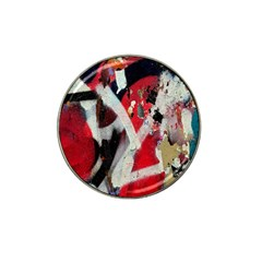 Abstract Graffiti Background Wallpaper Of Close Up Of Peeling Hat Clip Ball Marker