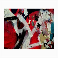 Abstract Graffiti Background Wallpaper Of Close Up Of Peeling Small Glasses Cloth