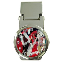 Abstract Graffiti Background Wallpaper Of Close Up Of Peeling Money Clip Watches