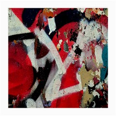 Abstract Graffiti Background Wallpaper Of Close Up Of Peeling Medium Glasses Cloth (2-Side)