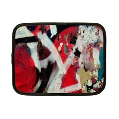 Abstract Graffiti Background Wallpaper Of Close Up Of Peeling Netbook Case (Small)