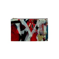 Abstract Graffiti Background Wallpaper Of Close Up Of Peeling Cosmetic Bag (Small)