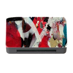 Abstract Graffiti Background Wallpaper Of Close Up Of Peeling Memory Card Reader With Cf
