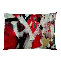 Abstract Graffiti Background Wallpaper Of Close Up Of Peeling Pillow Case (Two Sides)