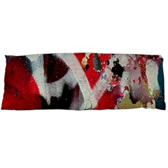 Abstract Graffiti Background Wallpaper Of Close Up Of Peeling Body Pillow Case Dakimakura (two Sides)