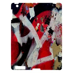 Abstract Graffiti Background Wallpaper Of Close Up Of Peeling Apple Ipad 3/4 Hardshell Case