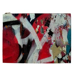 Abstract Graffiti Background Wallpaper Of Close Up Of Peeling Cosmetic Bag (xxl)