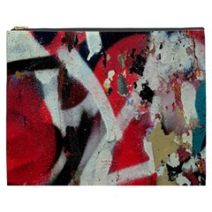 Abstract Graffiti Background Wallpaper Of Close Up Of Peeling Cosmetic Bag (XXXL)