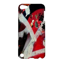 Abstract Graffiti Background Wallpaper Of Close Up Of Peeling Apple iPod Touch 5 Hardshell Case