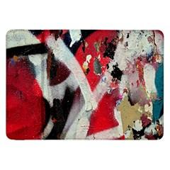 Abstract Graffiti Background Wallpaper Of Close Up Of Peeling Samsung Galaxy Tab 8 9  P7300 Flip Case