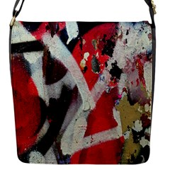 Abstract Graffiti Background Wallpaper Of Close Up Of Peeling Flap Messenger Bag (s)