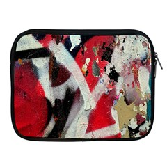 Abstract Graffiti Background Wallpaper Of Close Up Of Peeling Apple iPad 2/3/4 Zipper Cases