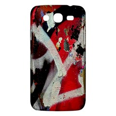 Abstract Graffiti Background Wallpaper Of Close Up Of Peeling Samsung Galaxy Mega 5.8 I9152 Hardshell Case