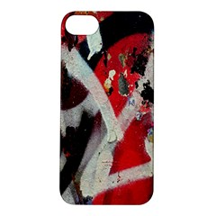 Abstract Graffiti Background Wallpaper Of Close Up Of Peeling Apple Iphone 5s/ Se Hardshell Case