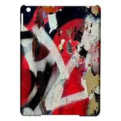 Abstract Graffiti Background Wallpaper Of Close Up Of Peeling iPad Air Hardshell Cases