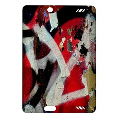Abstract Graffiti Background Wallpaper Of Close Up Of Peeling Amazon Kindle Fire Hd (2013) Hardshell Case