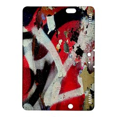 Abstract Graffiti Background Wallpaper Of Close Up Of Peeling Kindle Fire Hdx 8 9  Hardshell Case
